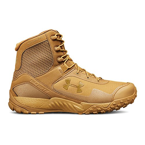 (Under Armour Men's Valsetz RTS 1.5 Military and Tactical Boot Ridge Reaper 200/Coyote Brown, 8)