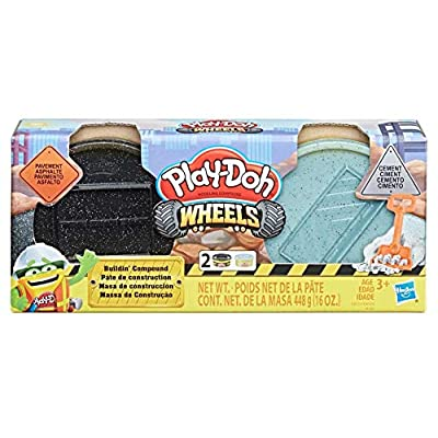 PD Play Doh Wheels Buildin' Compound Bundle: Toys & Games