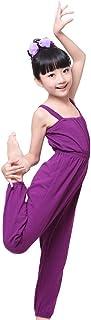 Girl's Gymnastics Dance Overall Full Length Ballet Dancewear Jumpsuit Trousers