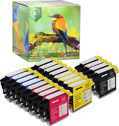 - Ink Hero 20 Pack Ink Cartridges for Brother LC-65 LC65 MFC-5890CN MFC-5895CW MFC-6490CW MFC-6890CDW MFC-6890DW Printer Inks