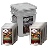 Wise Foods Company 60 Serving Entrée Only Grab and Go Food Kit (13x9x10-Inch, 11-Pounds)