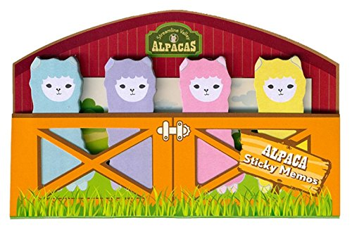 Streamline Valley Alpacas Sticky Memo Tab Set