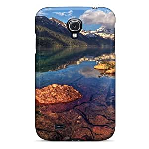 For Galaxy Case, High Quality Stunning Lake Scenery For Galaxy S4 Cover Cases