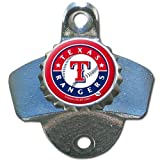 MLB Texas Rangers Wall Bottle Opener