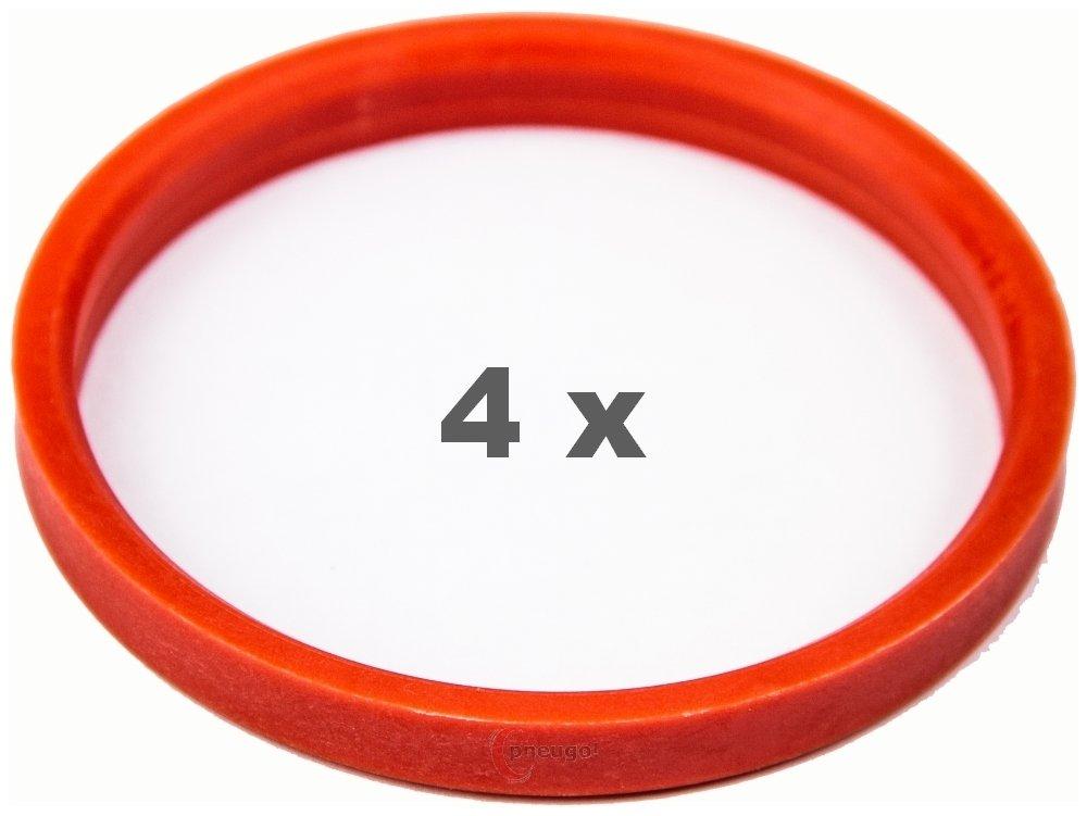 4/X Anello Di Centraggio 72.0/su 63.4/Rosso//Red