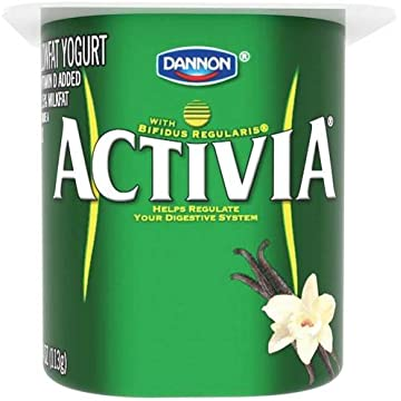 top best Activia Vanilla Probiotic Yogurt