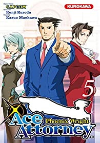 Ace Attorney : Phoenix Wright, Tome 5 par Kazuo Maekawa