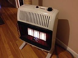 Amazon Com Mr Heater 20 000 Btu Natural Gas Radiant Vent
