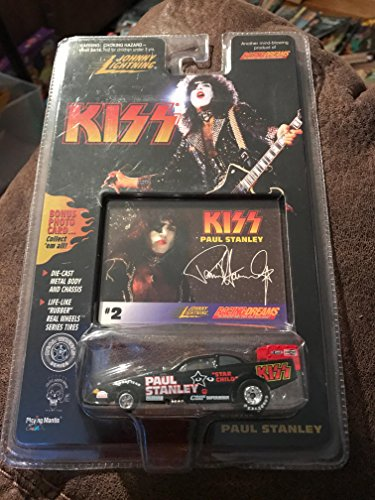 johnny lightning kiss paul stanley 2 racing dream diecast metal body and chassis