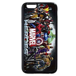 """UniqueBox Customized Marvel Series Case for iPhone 6 4.7"""", Marvel Comic Hero The Avengers iPhone 6 4.7 hjbrhga1544"""