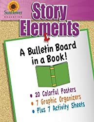 Story Elements: A Bulletin Board in a Book!
