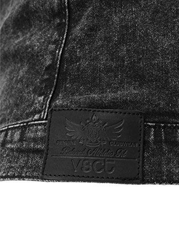 Ropa Negro Negro Vintage VSCT Fit Delgado Hombres Chaqueta denim vdHwxqvp