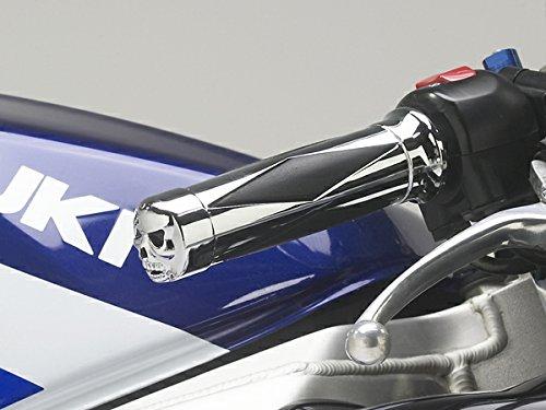 Grips 750 Gsxr600 Hayabusa 1000 (i5 Chrome Skull Hand Grips for Suzuki GSXR600 GSXR750 GSXR1000 GSXR 600 750 1000 Hayabusa)