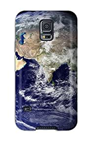 Durable Protector Case Cover With Earths Desktop Hot Design For Galaxy S5