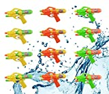 Xploretoys 12 Pack Assorted Water Guns,Sizes 8.5 inches