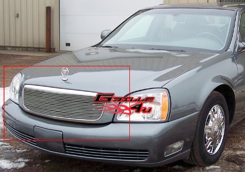 APS A86633A Polished Aluminum Billet Grille Replacement for select Cadillac DeVille Models Cadillac Deville Grille Replacement