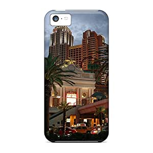Anti-scratch And Shatterproof Las Vegas Nevada Phone Case For Iphone 5c/ High Quality Tpu Case