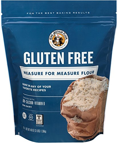 King Arthur Flour Gluten-Free Measure for Measure Flour, 3 Pound