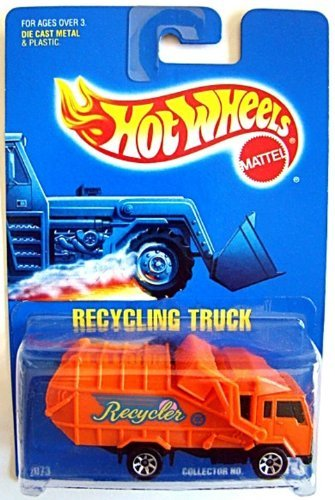 Hot Wheels 143 Recycling Truck 1:64 Scale Collectible Die...