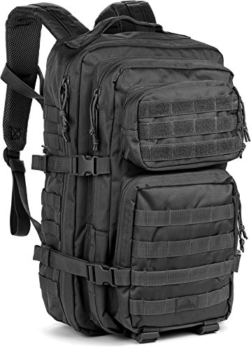 Red Rock Outdoor Gear Assault Pack (One Size, Black) (Rock Performance Pack)