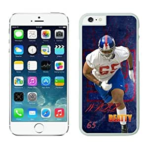 York Giants Willbeattywiki Case Cover For Apple Iphone 6 4.7 Inch White NFL Case Cover For Apple Iphone 6 4.7 Inch 14107