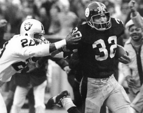 IMMACULATE RECEPTION PITTSBURGH STEELERS -OAKLAND RAIDERS 8X10 SPORTS ACTION ()