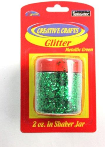 Glitter Shaker- Green 48 pcs sku# 1794955MA by DDI