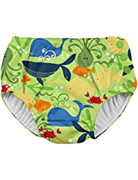 Boys' Baby Snap Reusable Absorbent Swimsuit Diaper