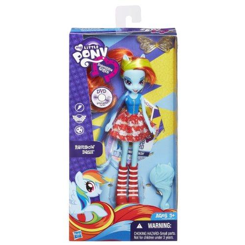 Rainbow dash with skirt doll