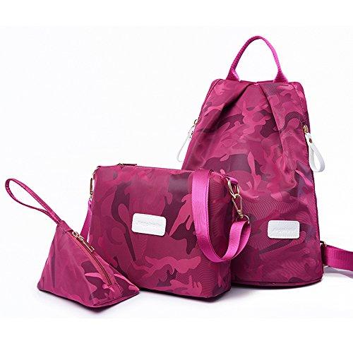 DENGXIHE - Bolso mochila  para mujer negro