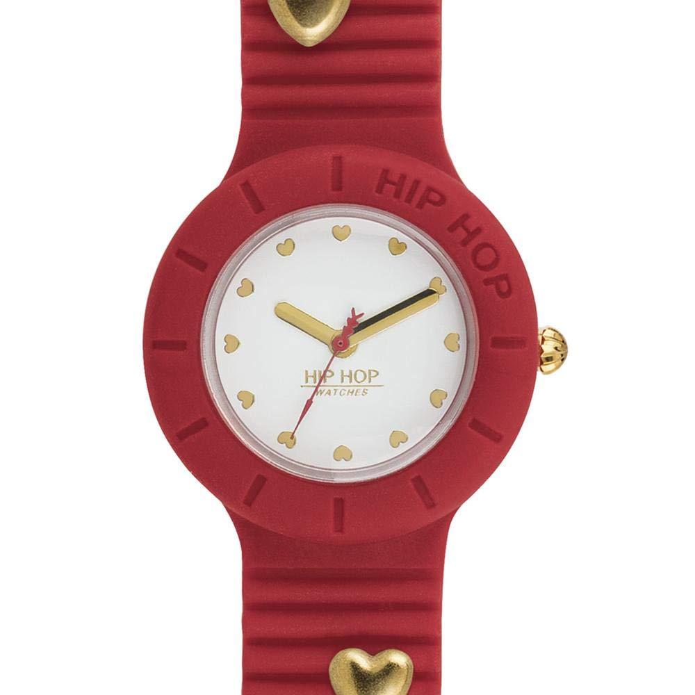 The Uhr Hip Damen Heartbreakers Hwu0854 Rot HopUhren rBedoWCQx