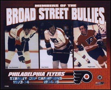 Gary Dornhoefer / Dave Schultz / Reggie Leach - Broad Street Bullies Art Poster