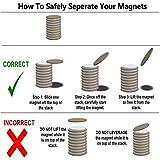 60pcs Small Magnets,Round Refrigerator