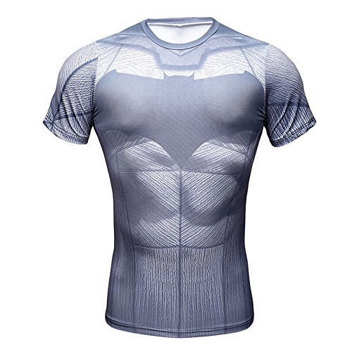 Batman Superhero Fitness Stretchy 3D Mens T-Shirt Athletic Cycling Jersey  Tops (L) - Buy Online in KSA. Apparel products in Saudi Arabia. a01c85dcf