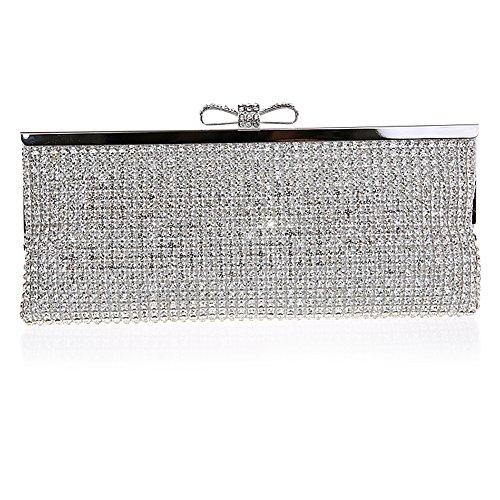 SSMK Evening pour Pochette Bag femme silver pprTq6