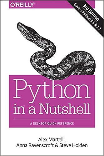 Pdf edition programming 3rd python