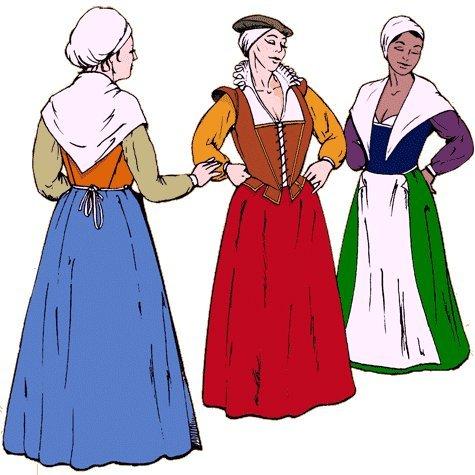 [The Elizabethan Working Woman's Wardrobe Pattern] (Women Musketeer Costumes)