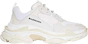 Balenciaga Mens & Womens (35-45 Sizes) Triple S Trainer White