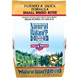 Natural Balance Small Breed Bites L.I.D. Limited Ingredient Diets Potato & Duck Formula Dry Dog Food, 4.5-Pound