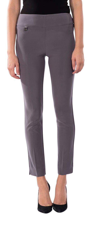 Joseph Ribkoff Ankle Length Wide Waistband Tailored Pant Zipperless - Style 144092 - Size 18 by Joseph Ribkoff