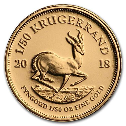 2018 ZA South Africa Gold Krugerrand Gold Commemorative Ungraded ()