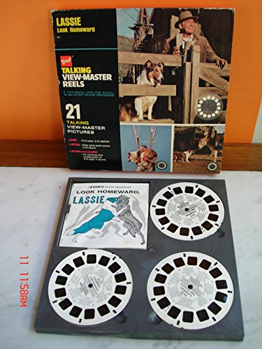 1973 GAF Talking View-Master Reel Lassie Look Homeward for sale  Delivered anywhere in USA