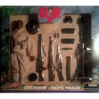 G.I. Joe WWII Marine Pacific Theatre African American 12in Action Figure