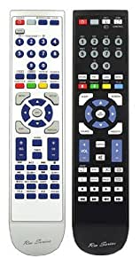 Replacement Remote Control for Technika M22-36B-GB-TCDI-UK by RM-Series