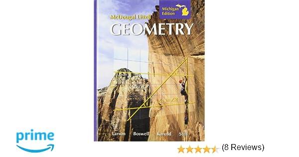 Amazon mcdougal littell geometry michigan edition amazon mcdougal littell geometry michigan edition 9780618924035 mcdougal littel books fandeluxe Gallery