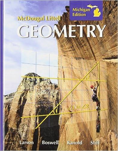 Amazon mcdougal littell geometry michigan edition mcdougal littell geometry michigan edition 1st edition fandeluxe Gallery