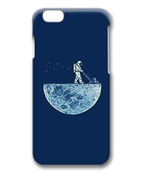 Amazon Iphone 6 6s ケース おしゃれ 月 宇宙飛行士 かわいい イラスト