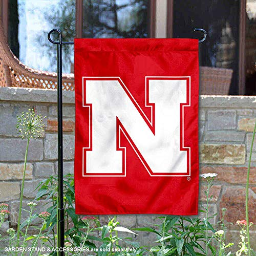 College Flags and Banners Co. University of Nebraska Iron N Garden Flag