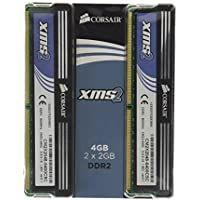 Corsair XMS2 DDR2 4GB (2x2GB) PC2-6400 800MHz 240-Pin Dual Channel Desktop Memory