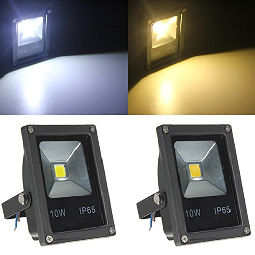 10W-WhiteWarm-White-IP65-LED-Flood-Light-Wash-Outdoor-AC85-265V-White